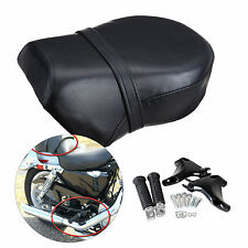 Rear Foot Peg + Passenger Seat For Harley Davidson Sportster 883XL 1200 07-13