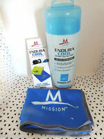 "Mission ENDURACOOL Instant Cooling Towel LG-BLUE 12""X33"" - NEW IN TUBE @"