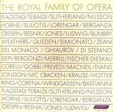 """OPERA GREATS """"THE ROYAL FAMILY OF OPERA"""" (3 LP) PREMIUM QUALITY USED LP (NM)"""