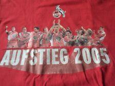 Rarität T-Shirt Größe 122/128 1 FC Köln Aufstieg 2005 von B&C (H/9)
