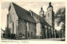 Ak, Lutherstadt Wittenberg, Stadtkirche 1937 (N)20030