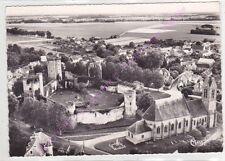 CPSM 77115 BLANDY LES TOURS Eglise le château féodal Edt COMBIER