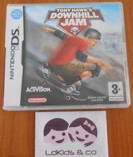 Jeu Nintendo DS TONY HAWK'S DOWNHILL JAM - Complet