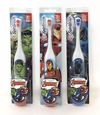3-Pk Kids Avengers Series Arm Hammer™ Spinbrush Battery Powered (N)