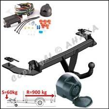 Gancio traino fisso Fiat Panda 4x4 2002-2012 + kit elettrico 13-poli rimorchio
