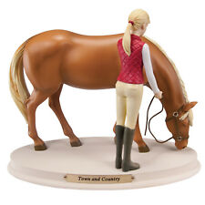 Horse Whispers TOWN AND COUNTRY Figurine - No longer crafted