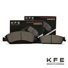 Premium Ceramic Disc Brake Pad FRONT + REAR NEW Set With Shims KFE1363 KFE1194