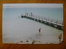 POSTCARD...MIDDLETON BEACH.. ALBANY..WESTERN AUSTRALIA....JETTY..BEACH SCENE