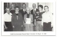 1984 Central Jersey Deltiological Society, Dunellen, NJ Postcard *6S(3)13