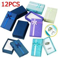 12Pcs High Quality Jewellery Gift Boxes For Necklace Bracelet Bangle Earring Set
