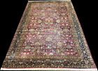 """An Antique 8'-9"""" x 14'-6"""" Decorative Worn Out Indian Amritsar Rug"""