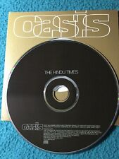 Oasis The Hindu Times UK CD single promo RKIDSCD23PX Card Sleeve With Sticker