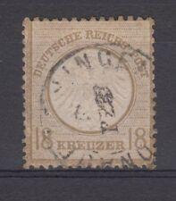 DR 1872, MiNr. 11, gestempelt, geprüft.