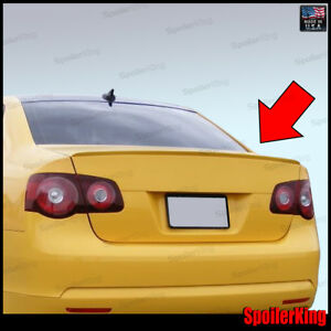 (244L) Volkswagen Jetta V 2005-2010 Rear Trunk Add-on M3 style Lip Spoiler Wing