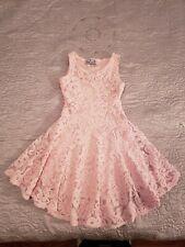 CRUSH GIRLS Pink/Peach Dress Size  8/10