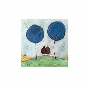"""Sam Toft """"The Day I Met You"""" Print 11.75 x 11.75"""