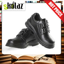 School Shoes Boys  Leather Size 10     Free Backpack
