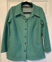Lane Bryant Vintage Striped Plus Size Blazer