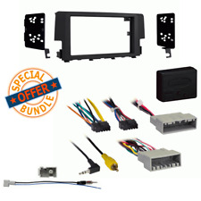 Double DIN Car Radio Dash Stereo install Kit for 2016-18 Honda Civic LX