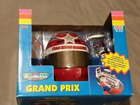 Team Micro Machines Grand-Prix Racing Kopf/ Helm-Rennbahn Playset Galoob Vintage