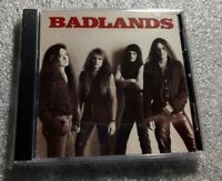 Badlands - Badlands 1989 self-titled CD - Free Fast U.S. Shipping MINT condition