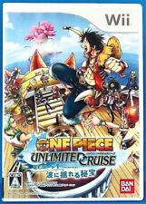 One Piece: Unlimited Cruise Ep.1 - Wii Bandai Namco Action Fighting Game Japan