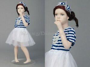 Child Fiberglass Cute Realistic Mannequin Dress Form Display #MZ-ITA1