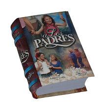 """""""A los Padres"""" libro miniatura coleccionable fácil de leer mensajes 430 paginas"""
