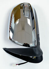 Toyota Hilux Mk7 2.5TD/3.0TD Door/Wing Mirror Chrome Electric L/H N/S - 2012 On