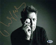 Philip Glass Signed Autographed 8x10 Photo Celebrated Composer Rare Beckett Bas