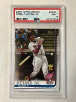 RONALD ACUNA JR 2019 Topps Update HR Derby RC #US271! PSA MINT 9! CHECK MY ITEMS