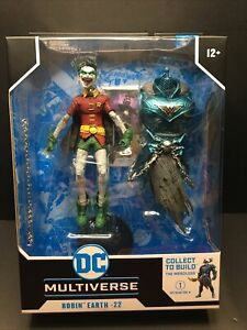 DC Dark McFarlane Multiverse Scream Robin Crow Earth-22 1:3 6in *READY TO SHIP*