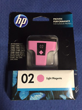 HP 02 Light Magenta Ink Cartridge C8775WN Genuine New Sealed