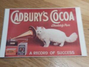 Cadbury Heritage Collection. Cadburys Cocoa. A record of Success.Unused Postcard