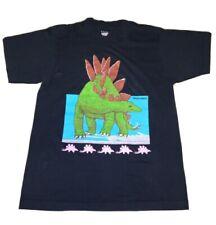 New listing Vintage Single Stitch Screen Stars Dinosaur T Shirt Stegosaurus Medium (small)