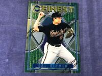I4-17 BASEBALL CARD - CAL RIPKEN JR ORIOLES - 1995 TOPPS FINEST - CARD # 120