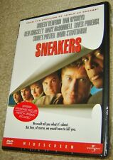 Sneakers (DVD, 1998, Widescreen), NEW & SEALED, REGION 1,STARRING ROBERT REDFORD
