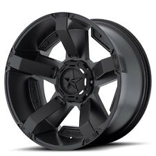 22 Inch All Black Wheels Rims Ford F 250 350 8x6.5 Lug XD Rockstar 2 XD811 NEW