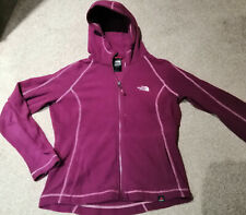 Womens The North Face Polartec hooded fleece Size M