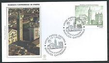 2007 ITALIA FDC FILAGRANO GOLD BASILICA CATTEDRALE DI PARMA - FG2007