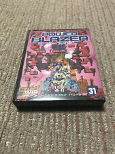 New Game soft Famicom 『POWER BLAZER』Box and with an instructions Japan ☆