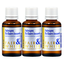 Fare & White Serum Eclaircissant Brightening F&W Oil Serum 30ml (Pack of 3)