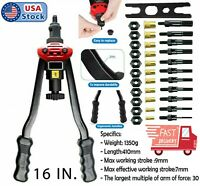16'' IN Rivet nut gun kit Rivnut Tool Nut Setter Thread Setting Nutsert Tool Sae