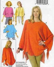 New! Plus Size 16-26 Easy Pullover Tunic Uncut Sewing Pattern Butterick 6171