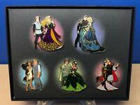 Disney Fairytale Designer Collection Princess & Prince Pin Set BRAND NEW RARE