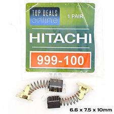 Hitachi 999-100 999100 Carbon Brushes DH24DVC WH18DSC DH18DL DH18DMR DH18DSL