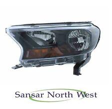 Ford Ranger - Passenger Front Headlamp Headlight Black Inner N/S LEFT 2016 >On