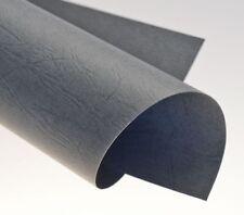 Rückwände, ledergenarbt grau, DIN A4, 250g/qm, VE mit 100 Stück