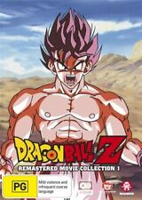 Dragon Ball Z Remastered Movie Collection 1 (Uncut) NEW R4 DVD