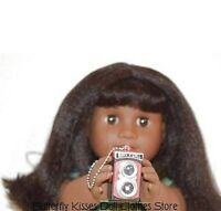Red Mini  Camera Flash Sound 18 in Doll Clothes Accessory Fits American Girl
